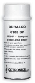 Duralco 6105SP Stainless Steel Spray Coating