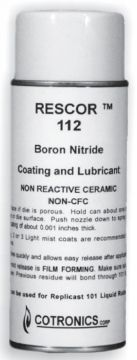 Rescor 112 Boron Nitride Coating Spray