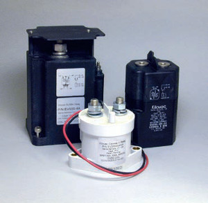 High Voltage AC and DC Contactors