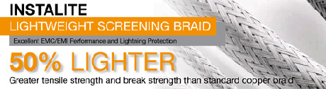 NEW - Instalite Light Weight Screening Braid