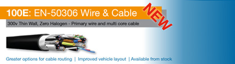 NEW 100E wire and cable to EN-50306 | RAIL
